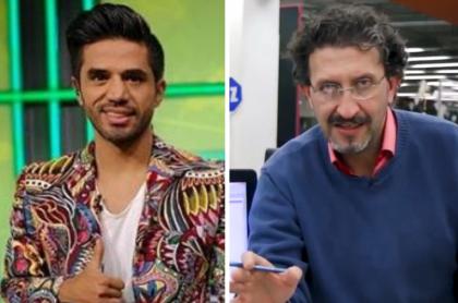 Fabián Vargas y Gabriel Meluk