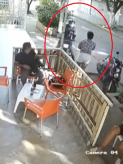 [Video] Así le dispararon a hermana de Diomedes Dionisio Díaz por evitar atraco a su mamá
