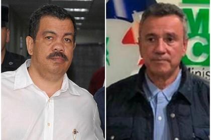 Diego Fernando Murillo, alias 'Don Berna' y general (r) Mauricio Santoyo
