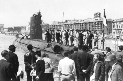 Foto archivo del submarino 'Le Minerve'