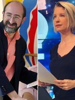 ¿'Choque de trenes' en RCN entre Claudia Gurisatti y Juan Lozano?