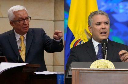 Jorge Robledo-Iván Duque