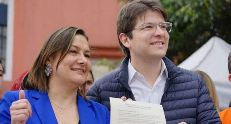Ángela Garzón y Miguel Uribe