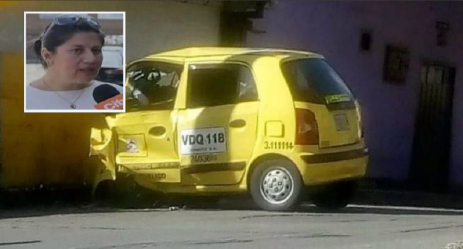 Muere taxista en accidente