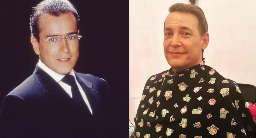 Jorge Enrique Abello y Patrick Delmas, actores.