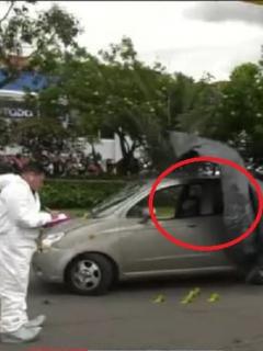 Sicarios balean a conductor que se detuvo en un semáforo en Fontibón, en Bogotá