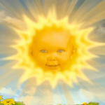 Sol de los Teletubbies.