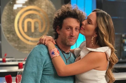 Simón Brand y Claudia Bahamón