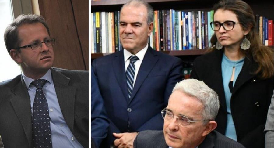 Andrés Felipe Arias y bancada del Centro Democrático