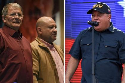 'Rodrigo Granda', 'Carlos Antonio Lozada' y Diosdado Cabello