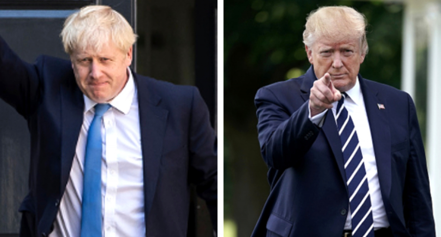 Boris y Trump