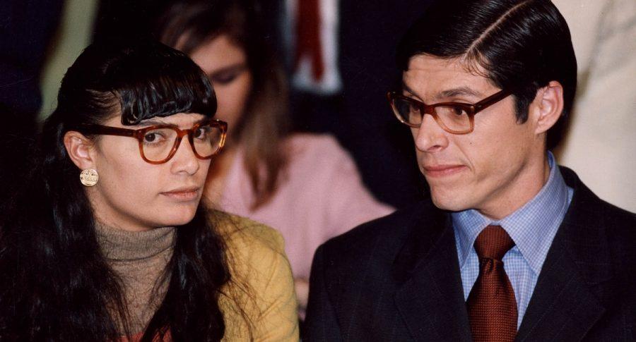 Ana María Orozco y Mario Duarte, actores.