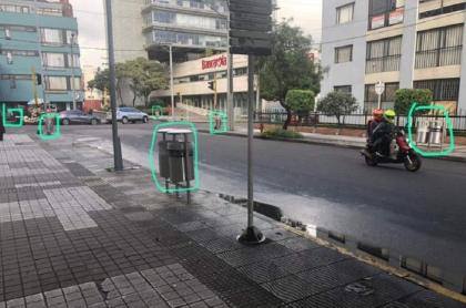 Canecas en Bogotá