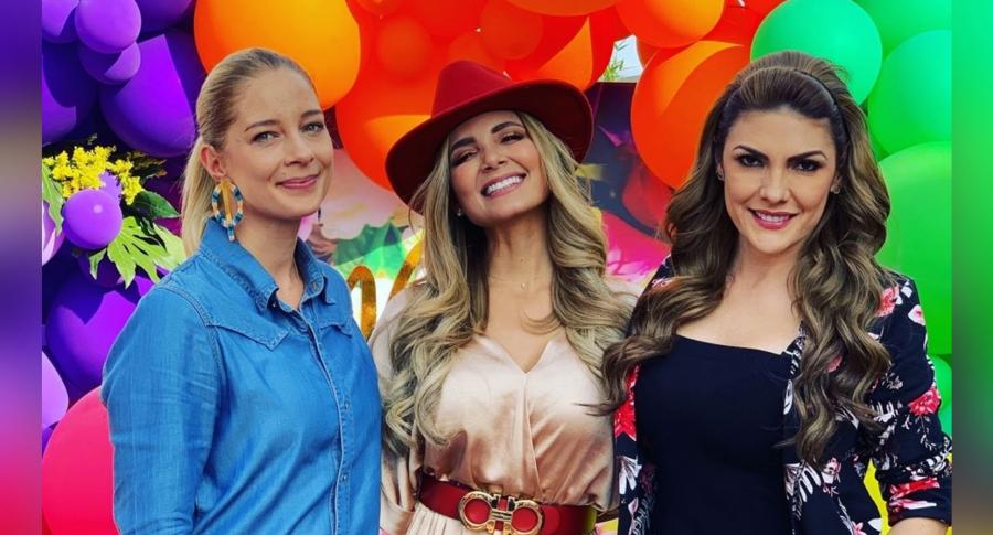 Ana Katalina Torres, Melissa Martínez y Ana Karina Soto