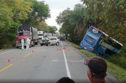 Accidente en Tolima