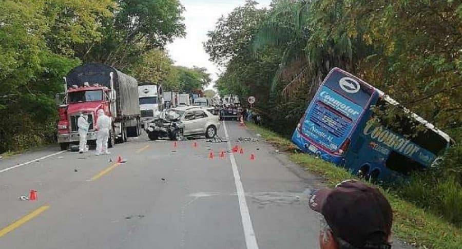 Accidente en Tolima