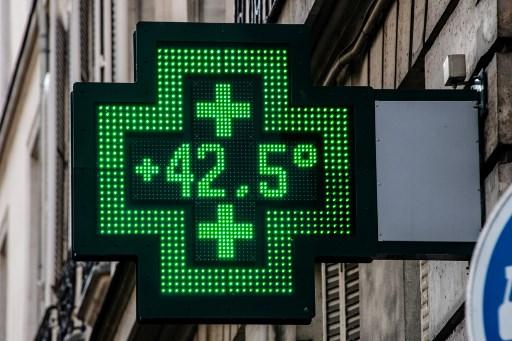 Droguería en París registra 42,5 grados centígrados (Calor)