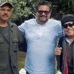 'El Paisa', 'Iván Márquez' y 'Jesús Santrich'