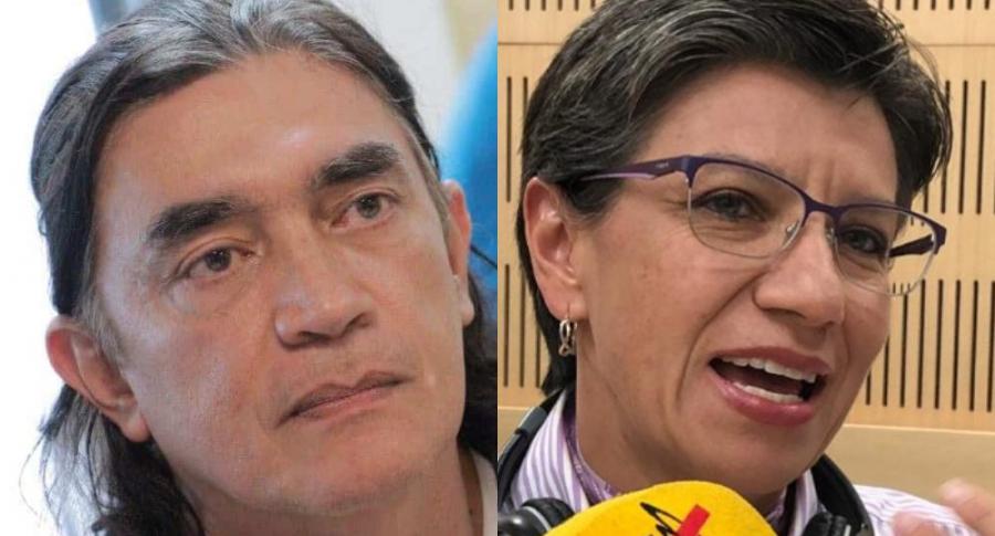 Gustavo Bolívar y Claudia López