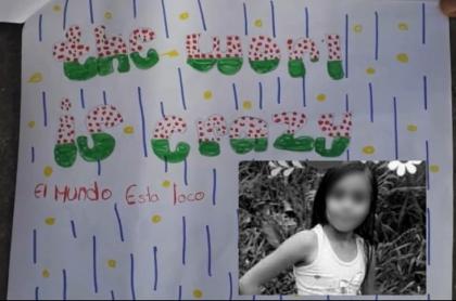 Carta niña indígena asesinada
