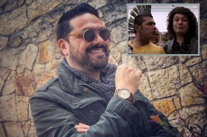 Santiago Rodríguez y Santiago Alarcón, actores.