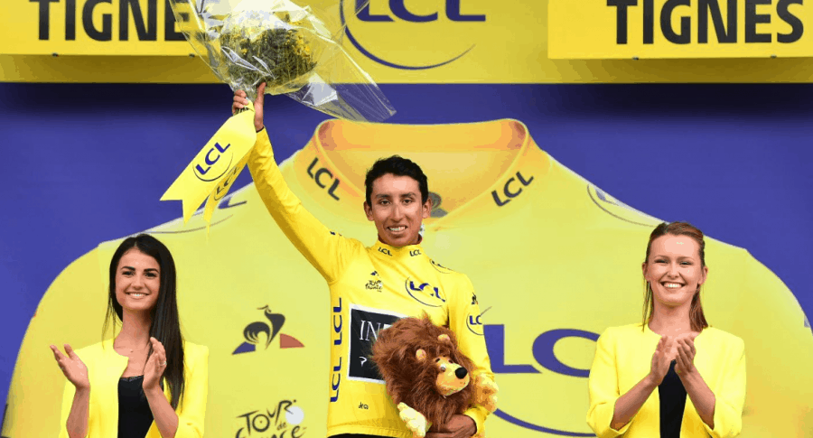 Egan Bernal, líder Tour de Francia 2019