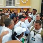 Iván Duque en la marcha por la vida de los líderes sociales