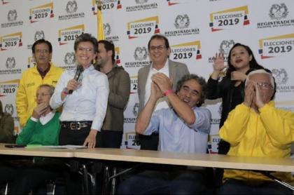 Lanzamiento de campaña de Claudia López