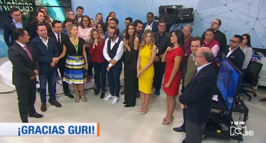Despedida Claudia Gurisatti RCN