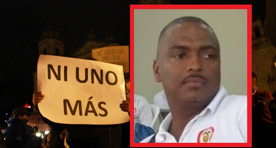 Marchas contra asesinato de líderes sociales y Carlos Alberto Tovar