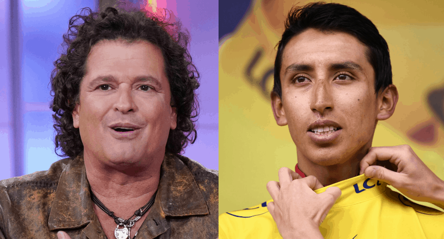 Carlos Vives y Egan Bernal