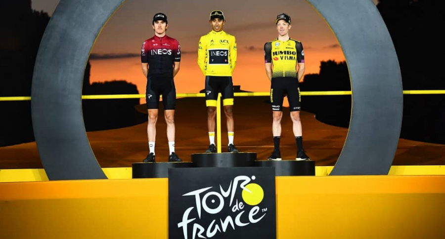 Egan Bernal campeón Tour 2019