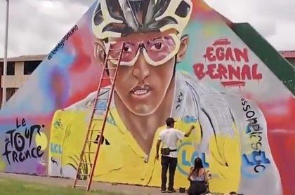 Mural de Egan Bernal
