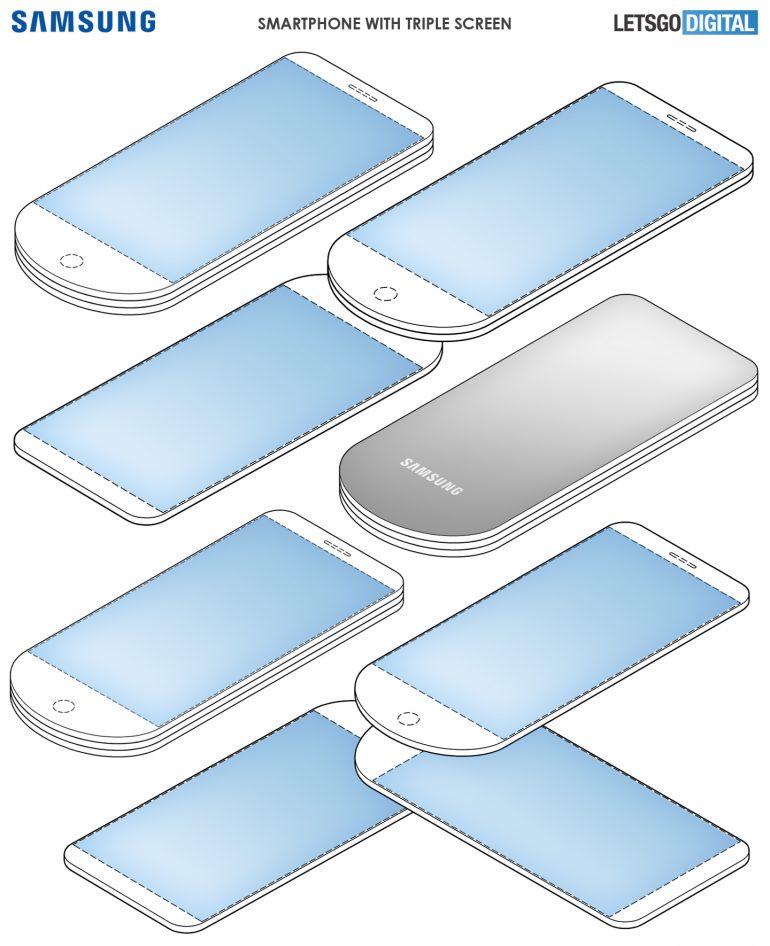 Samsung triple screen