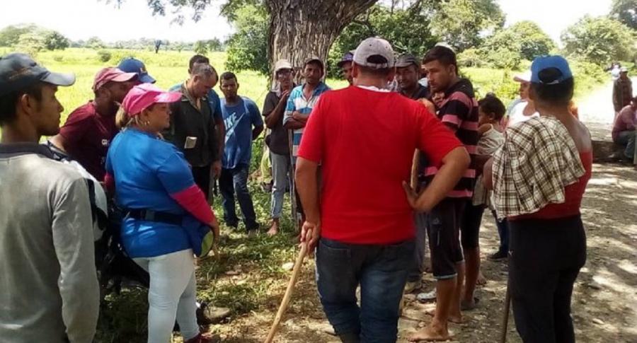 Campesinos en Barinas