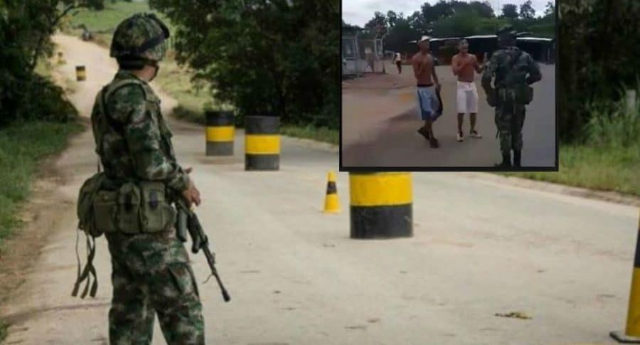 Joven muerto en base militar