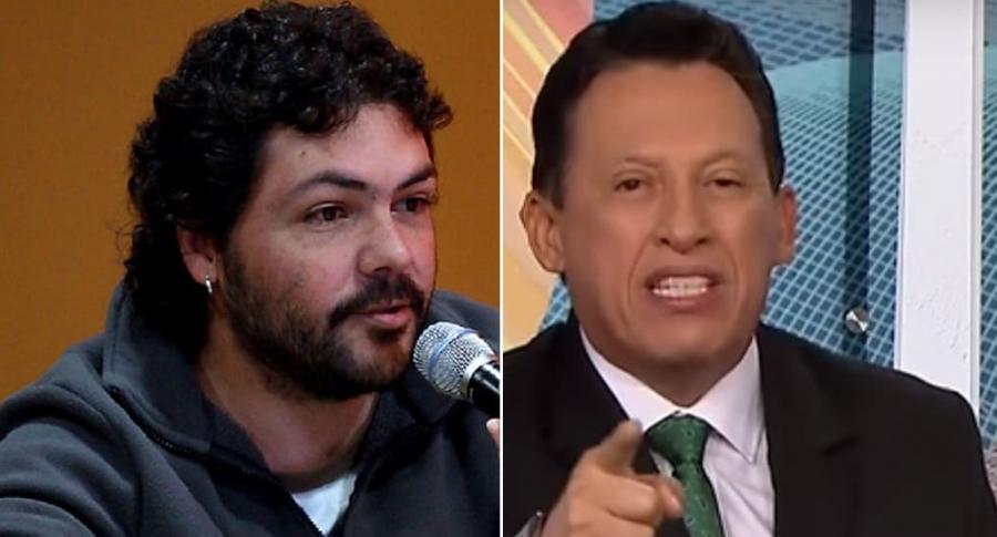 Pascual Gaviria y Óscar Rentería