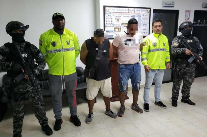 Disidentes de Farc capturados