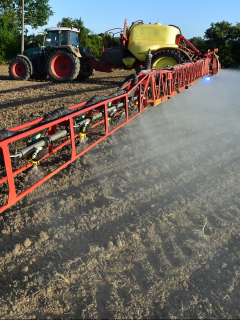 Fumigación de cultivos