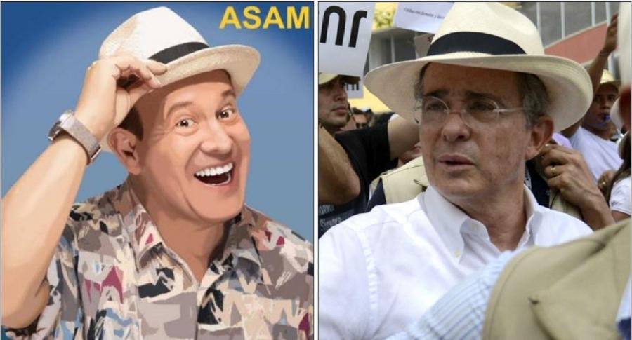 'Vargasvil0' y Álvaro Uribe