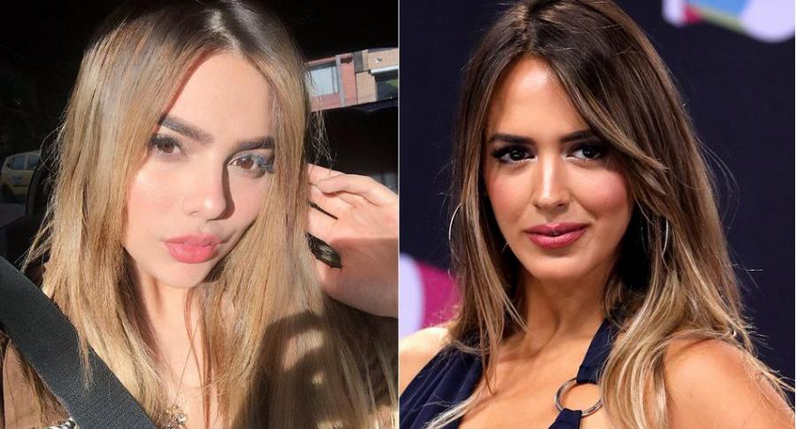 Juana Valentina Restrepo, 'youtuber', y Shannon de Lima, modelo.