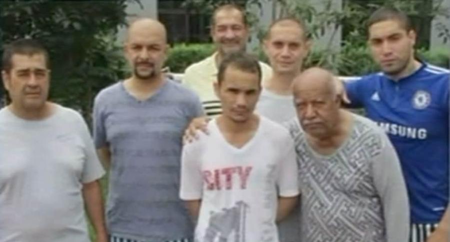 Colombianos condenados en China.