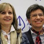 Ángela María Robledo y Claudia López
