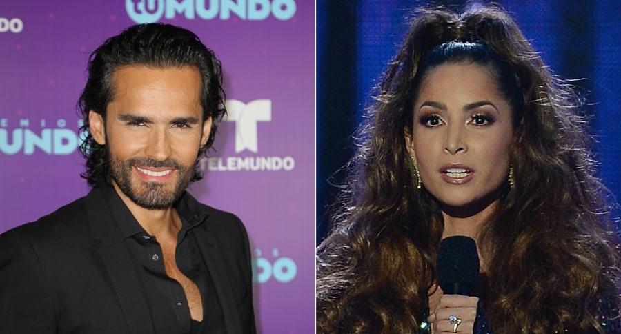 Fabián Ríos y Carmen Villalobos, actores.