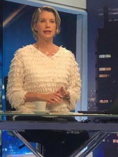 Claudia Gurisatti, presentadora.