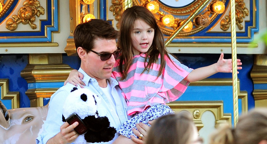 Tom Cruise y Suri, su hija