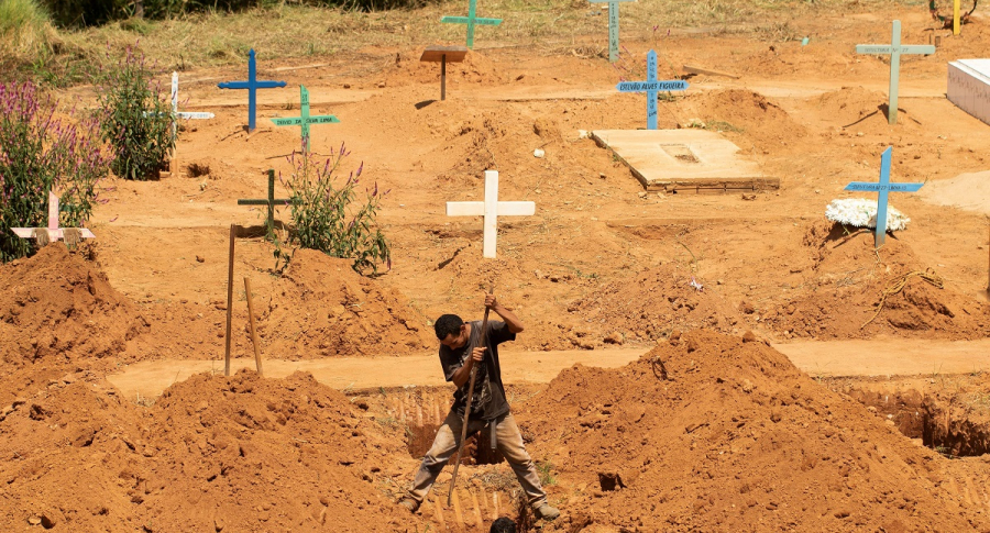 Cementerio en Brasil