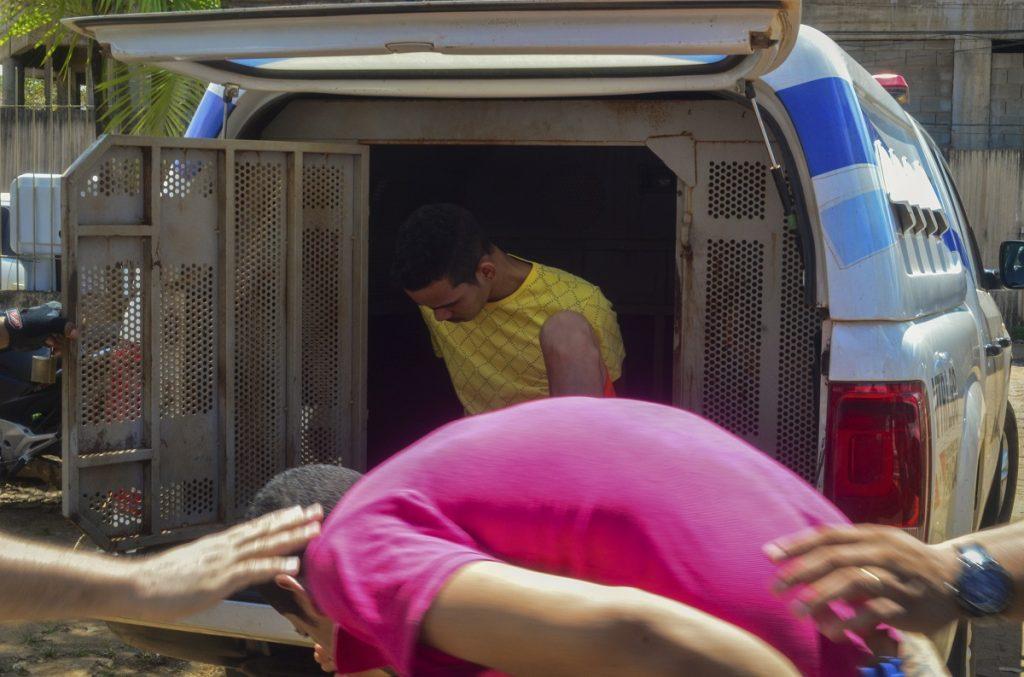 Traslado de presos en vehículos