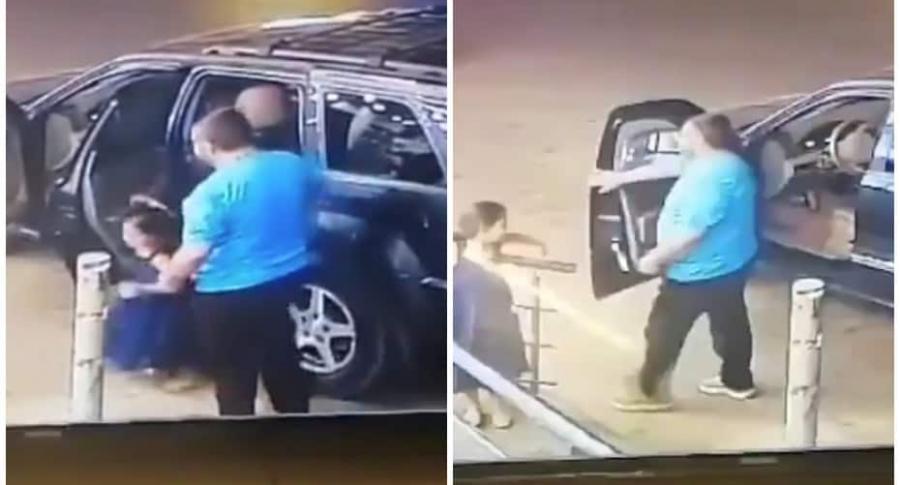 Hombre y su hija se salvan de accidente.