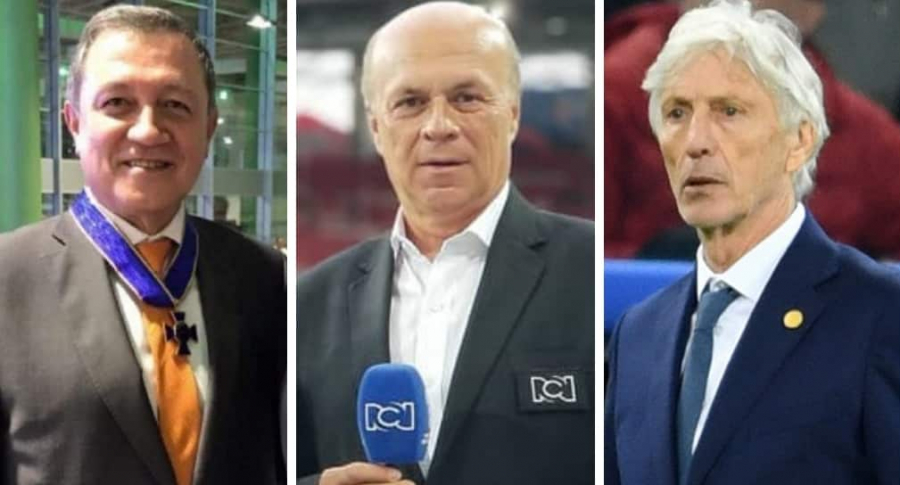 Ernesto Macías, Carlos Antonio Vélez y José Pékerman